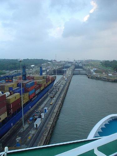 Panama Canal photo